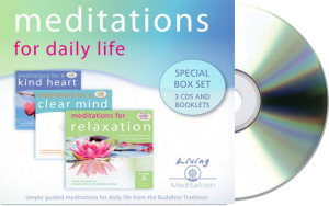 Meditations for Daily Life audio cds